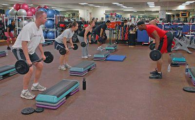 Gewichtheben mit leichten Gewichten